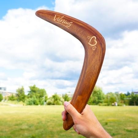 graviravimo eskizas, bumerango maketas