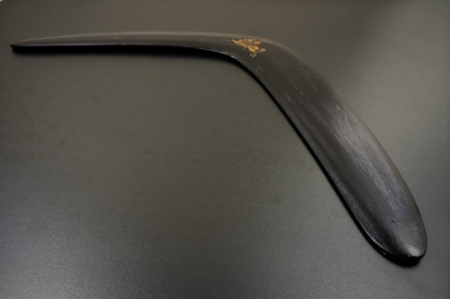 Bumerangas Vytis juodas  min